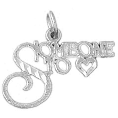 Someone To Love Charm Pendant 14k Gold