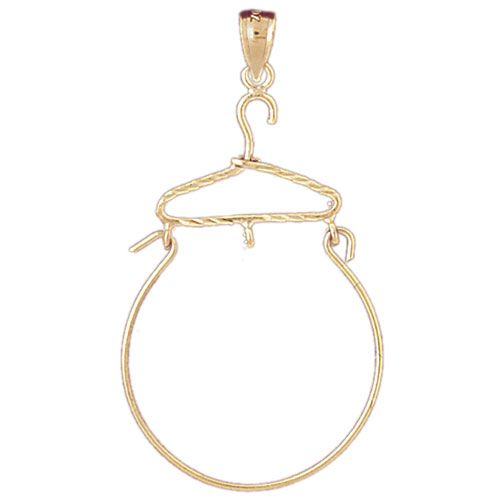 Hanger Charm Holder Charm Pendant 14k Gold