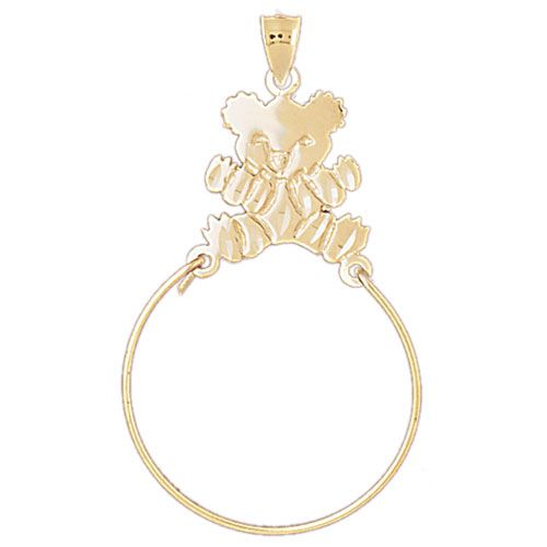 Koala Charm Holder Charm Pendant 14k Gold