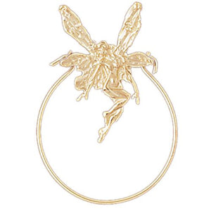 Tooth Fairy Charm Holder Charm Pendant 14k Gold