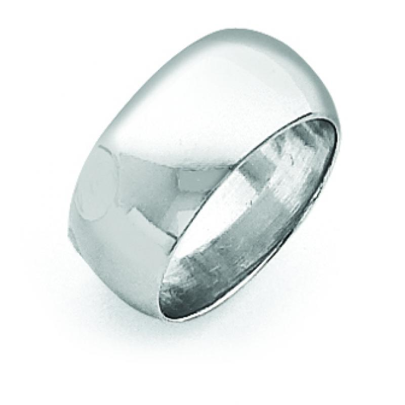 Sterling Silver 35 inch Half-Round Band