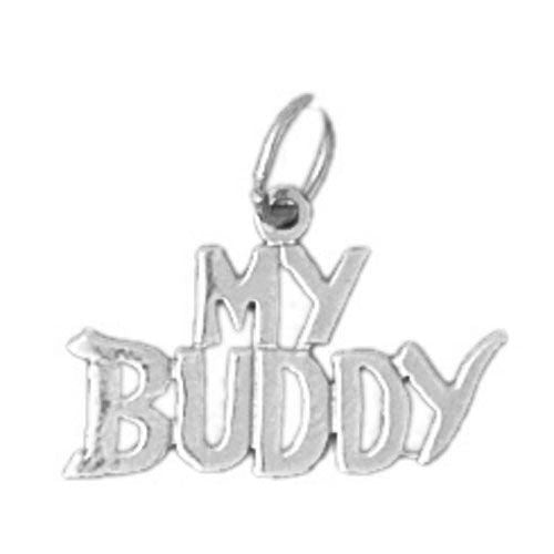 My Buddy Charm Pendant 14k Gold