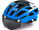 Cycling Helmet With Goggles