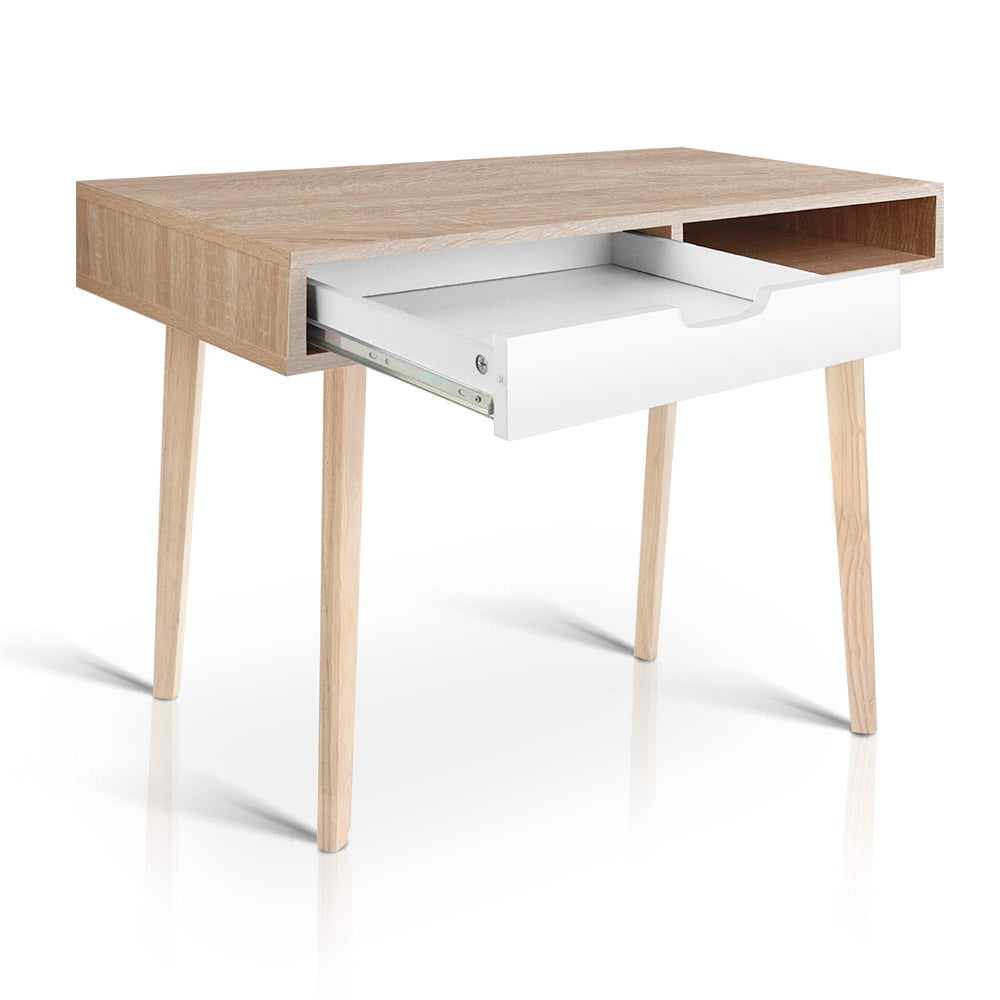 Artiss 2 Drawer Wood Computer Desk