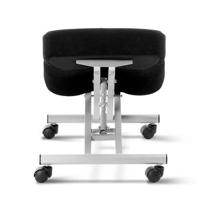 Adjustable Kneeling Chair - Silver