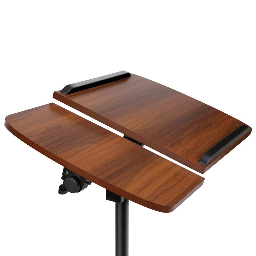 Adjustable Computer Stand - Walnut