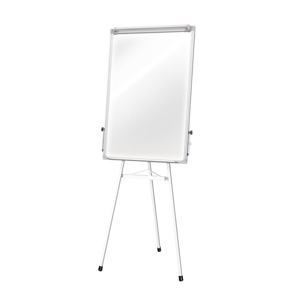 Mobile Whiteboard Portable Stand Tripod Magnetic Flipchart 60x90cm