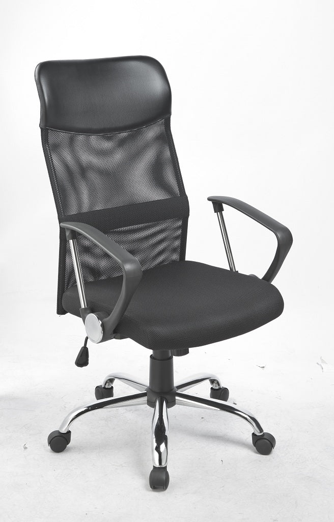 Ergonomic Mesh PU Leather Office Chair