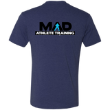 MAD  Men's Triblend T-Shirt Front and Back