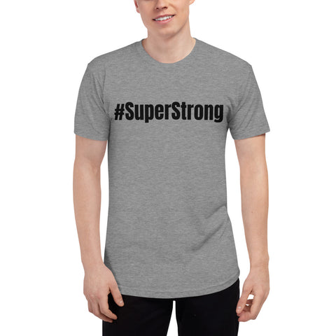 SuperStrong --Unisex Tri-Blend Track Shirt