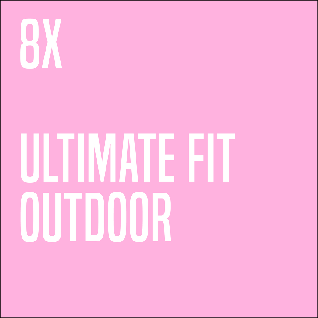 8 x Ultimate Fit Groupclass