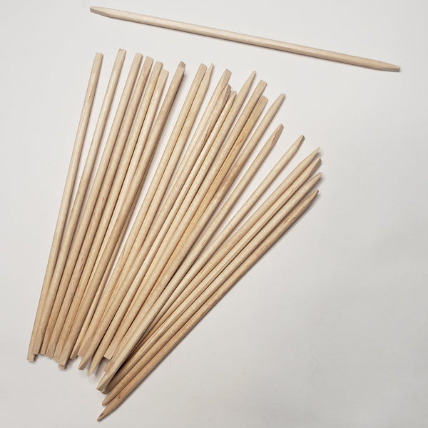 Birchwood Manicure Sticks 4 pack