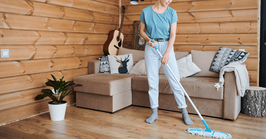 Hardwood Floor Cleaning Tips During COVID