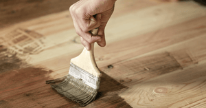 The Best Way To Paint Your Wood Floor!