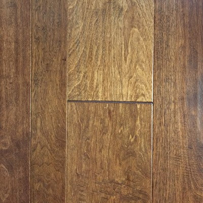 "3/5/7"" x 3/8"" Birch Hand Scraped - Prefinished Hearth"