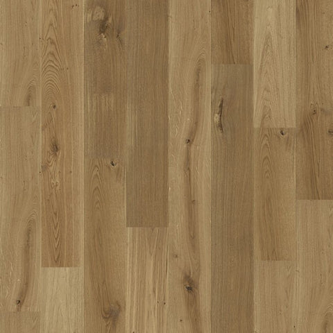 "7 1/2"" x 5/8"" Character European Oak - Unfinished Engineered"