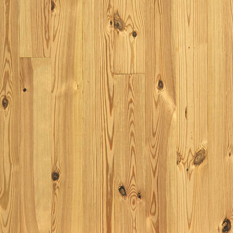 "5 1/8"" x 3/4"" Heart Pine - Prefinished Natural"