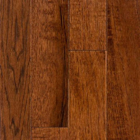 "2 1/4"" x 3/4"" Hickory - Prefinished Brownstone"