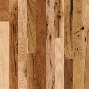 "4"" x 3/4"" Rustic Hickory - Prefinished Natural"
