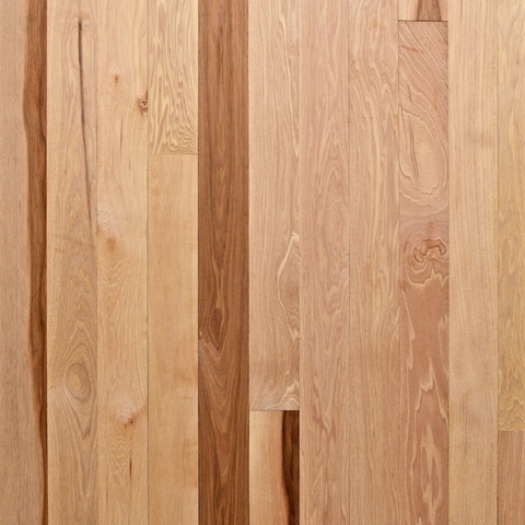 "4"" x 3/4"" Select Hickory - Unfinished (5'-10' Lengths)"