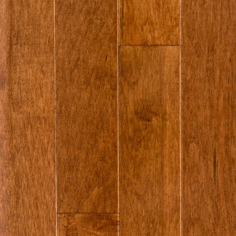 "2 1/4"" x 3/4"" Maple - Prefinished Brown Sugar"