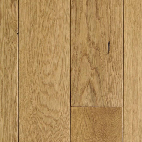 "7"" x 1/2"" Mullican Wexford White Oak Natural"