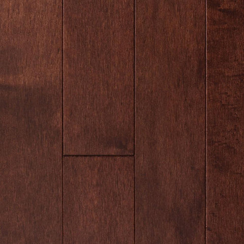 "3"" x 3/4"" Maple - Prefinished Bordeaux"