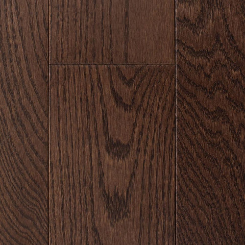 "5"" x 3/4"" Red Oak - Prefinished Dark Chocolate"