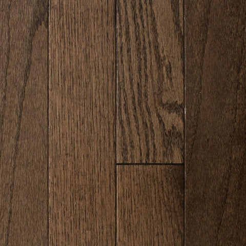 "5"" x 3/4"" Red Oak - Prefinished Tuscan Brown"