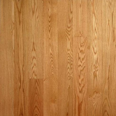 "5"" x 5/8"" Select Red Oak - Unfinished Engineered (1'-10' Lengths)"