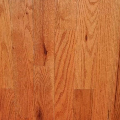 "4 1/4"" x 3/4"" Red Oak - Prefinished Butterscotch"