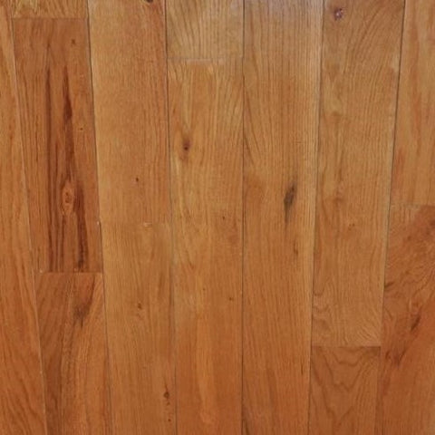 "4 1/4"" x 3/4"" Red Oak - Prefinished Golden"