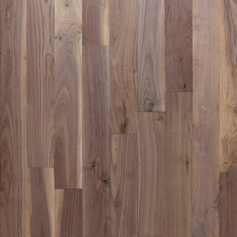 "7"" x 3/4"" Character Walnut - Prefinished Natural"