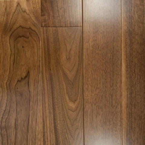 "4"" x 5/8"" Select Walnut - Unfinished Engineered (1'-10' Lengths)"