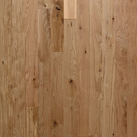 "5"" x 5/8"" Character White Oak - Unfinished Engineered (1'-10' Lengths)"