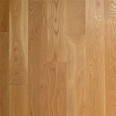"4"" x 5/8"" Select White Oak - Unfinished Engineered (1'-10' Lengths)"