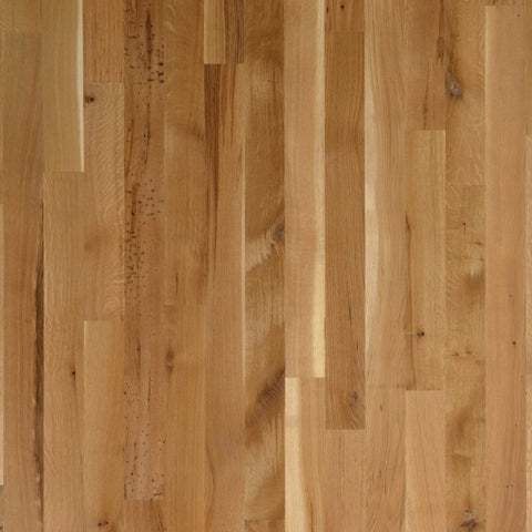 "5"" x 5/8"" Character White Oak Rift & Quartered - Unfinished Engineered (4'-10' Lengths)"