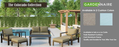 Colorado Patio Furniture Collection Austin Texas