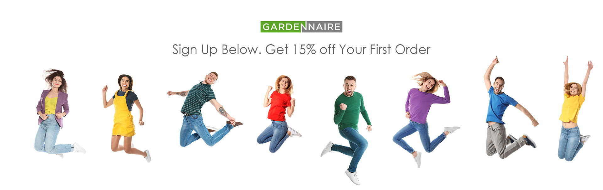 Gardennaire Sign up and save