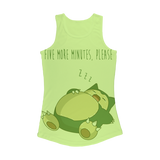 Five more minutes please Women Performance Tank