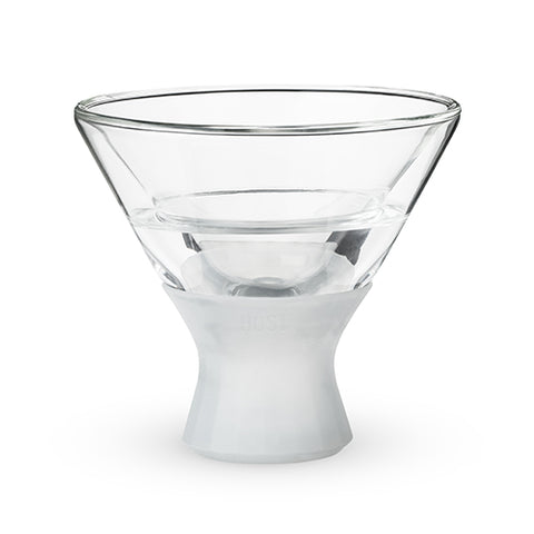 Glass FREEZE™ Martini Glass (set of two) by HOST®