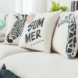 "Zebra Pillow Cover 18"" x 18"""