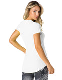 SHORT SLEEVE SHIRT 158 NICE TRY WHITE