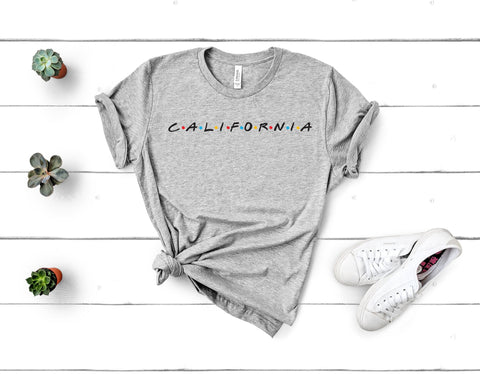 California Friends Tee