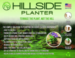 Hillside Planter-Set of (3) D.I.Y Erosion Control Soil Slope-Stabilization Runoff Conserves Water ECO 1-5 Gallon