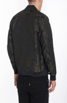 BUTTERFLY PRINTED BOMBER- OLIVE
