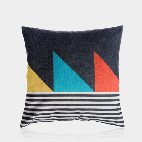 "Small Flags Pillow Cover 18"" x 18"""