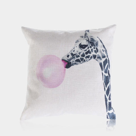 "Blowing Bubbles Pillow Cover 18"" x 18"""