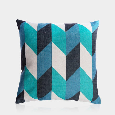 "Blue Danube Pillow Cover 18"" x 18"""