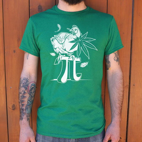 Chicken Pot Pi T-Shirt (Mens) - Gardennaire
